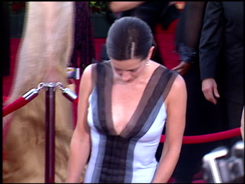 courteney cox at the 2003 emmy awards at the shrine auditorium in los angeles california on september 21 2003 - emmy awards stock videos & royalty-free footage