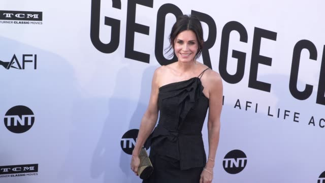 Courteney Cox at the American Film Institute Honors George Clooney With 46th AFI Life Achievement Award at Dolby Theatre on June 07 2018 in Hollywood...