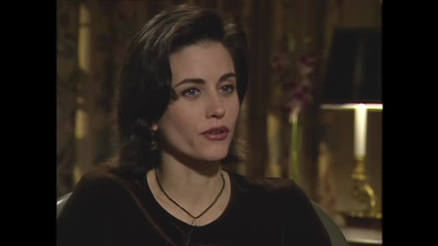 courteney cox discusses her career options before she was cast on 'friends' - television show stock videos & royalty-free footage
