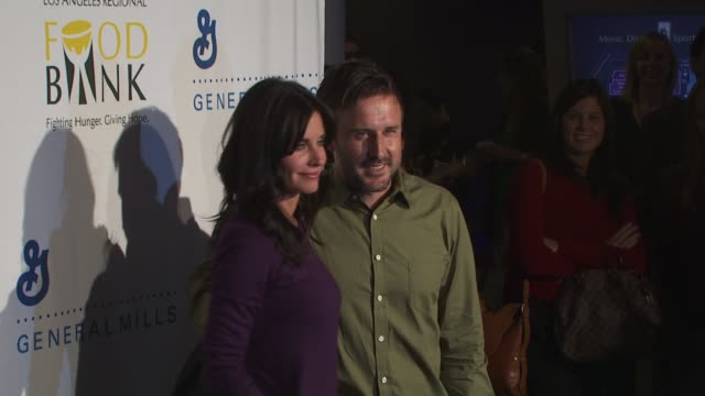 Courteney CoxArquette David Arquette at the 'Rock A Little Feed A Lot' Benefit Concert at Los Angeles CA