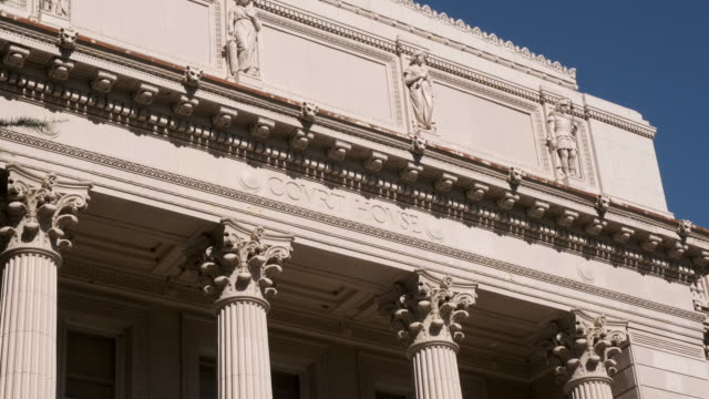 courthouse building - town hall government building stock videos & royalty-free footage