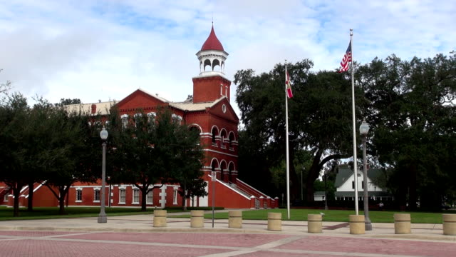 courthouse square - kissimmee, florida - florida usa stock videos and b-roll footage