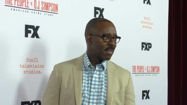Courtney B Vance arriving to the For Your Consideration Event For FX's The People v OJ Simpson American Crime Story at Ace Hotel in Los Angeles in...