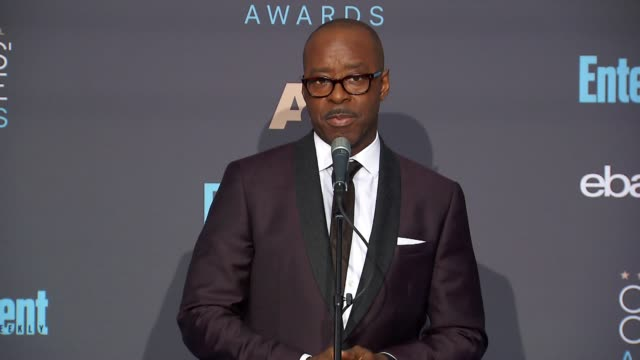 INTERVIEW Courtney B Vance at 22nd Annual Critics' Choice Awards in Los Angeles CA