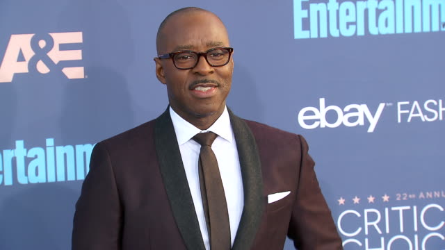 Courtney B Vance at 22nd Annual Critics' Choice Awards in Los Angeles CA