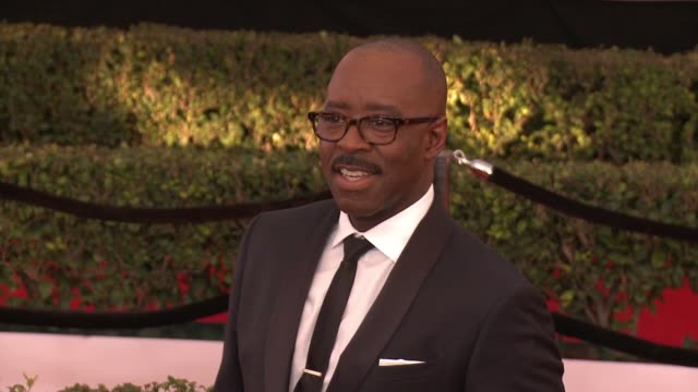 Courtney B Vance at 23rd Annual Screen Actors Guild Awards Arrivals in Los Angeles CA