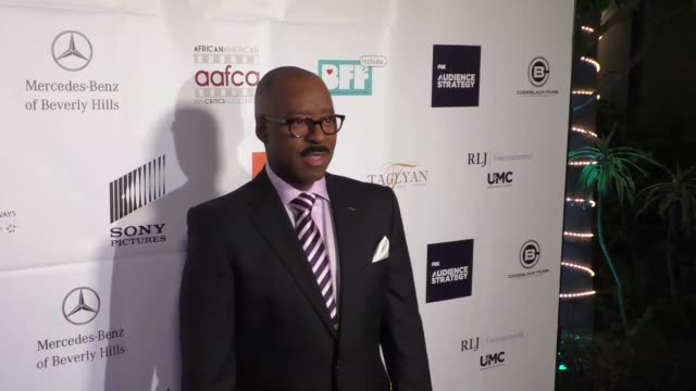 Courtney B Vance at the 7th Annual AAFCA Awards at Taglyan Complex in Hollywood at Celebrity Sightings in Los Angeles on February 10 2016 in Los...