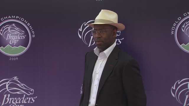 Courtney B Vance at the Breeders' Cup World Thoroughbred Championships at Arcadia CA