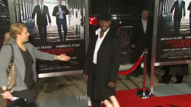 Courtney B Vance at the 'Extraordinary Measures' Premiere at Hollywood CA
