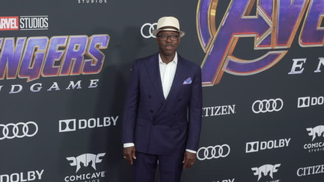 Courtney B Vance at the World Premiere of Marvel Studios' Avengers Endgame at Los Angeles Convention Center on April 22 2019 in Los Angeles California