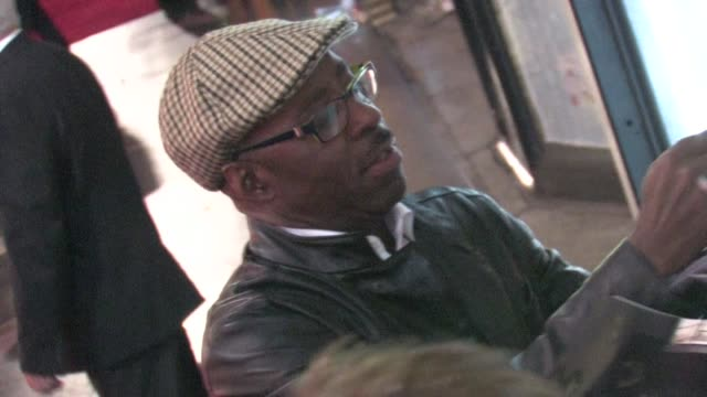Courtney B Vance greets fans at the This Means War premiere in Hollywood 02/08/12