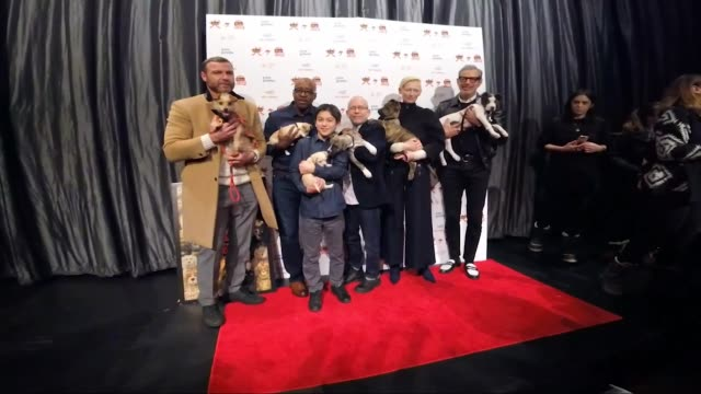 Courtney B Vance Koyu Rankin Bob Balaban Tilda Swinton Liev Schreiber at the 'Isle Of Dogs' Special Screening at IFC Center on March 21 2018 in New...