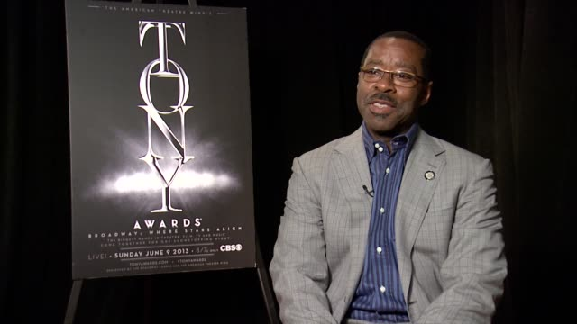 INTERVIEW Courtney B Vance on finding out he was nominated for his role in Lucky Guy at 2013 Tony Awards Meet The Nominees Press Reception at...