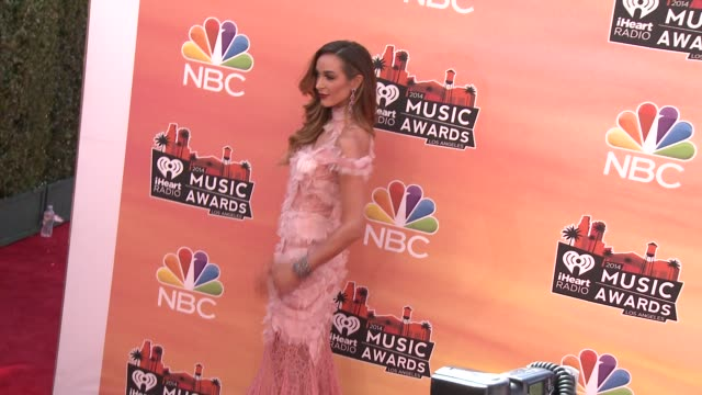 courtney bingham at the 2014 iheartradio music awards - arrivals at the shrine auditorium on may 01, 2014 in los angeles, california. - shrine auditorium stock videos & royalty-free footage