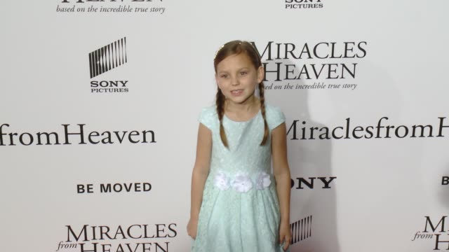 courtney fansler at miracles from heaven los angeles premiere at arclight cinemas on march 09 2016 in hollywood california - arclight cinemas hollywood stock videos & royalty-free footage