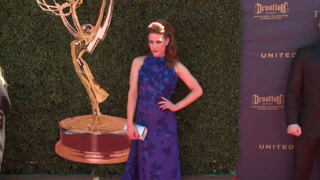 Courtney Hope at the 44th Annual Daytime Emmy Awards at Pasadena Civic Auditorium on April 30 2017 in Pasadena California