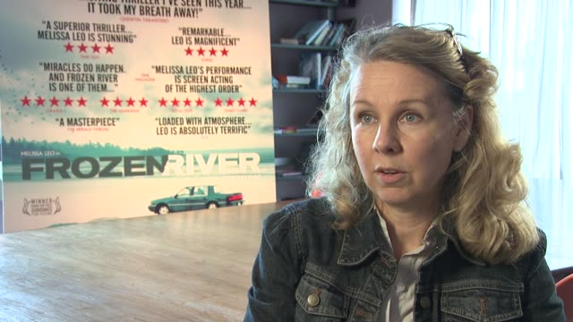 Courtney Hunt on how it was originally a short film and how it's incorporated within the feature film at the Frozen River Interview at London England