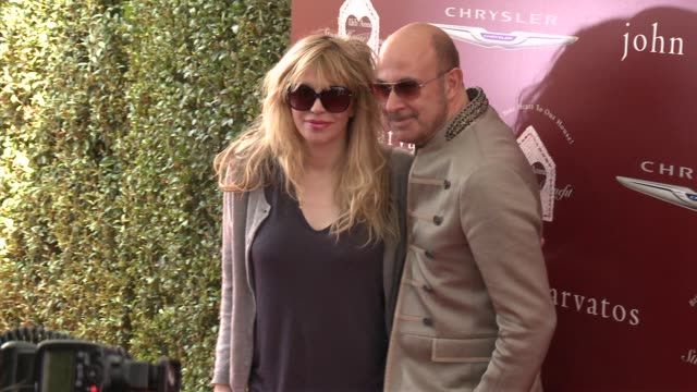 courtney love and john varvatos at the john varvatos 11th annual stuart house benefit at john varvatos on april 13 2014 in los angeles california - courtney love stock videos & royalty-free footage