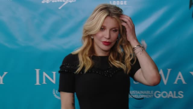 Courtney Love at Brett Ratner And David Raymond Host Special Event For UN SecretaryGeneral Ban Kimoon in Los Angeles CA