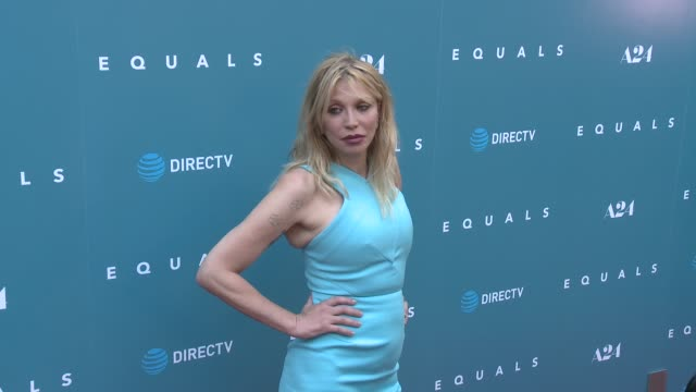 Courtney Love at Equals Premiere in Los Angeles CA