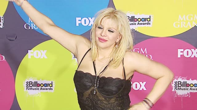 Courtney Love at the 2006 Billboard Music Awards at the MGM Grand Hotel in Las Vegas Nevada on December 4 2006
