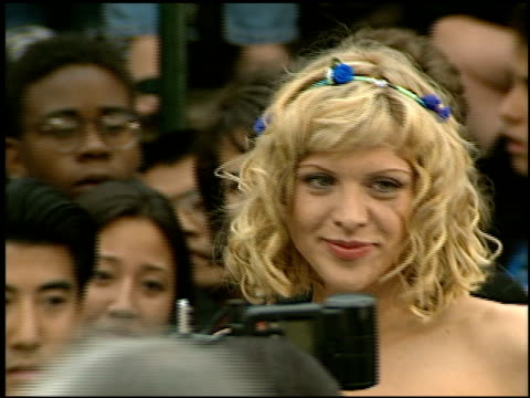 Courtney Love at the 'Batman and Robin' Premiere on June 12 1997