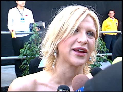 Courtney Love at the Blockbuster Awards 99 at the Shrine Auditorium in Los Angeles California on May 25 1999