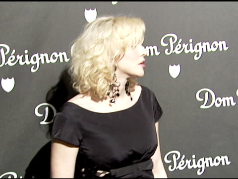 Courtney Love at the Event Unveiling the New Image of Dom Perignon Rose Vintage 1996 Champagne at a private residence in Beverly Hills California on...