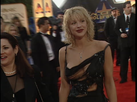 Courtney Love at the Golden Globes 2000 at Beverly Hilton