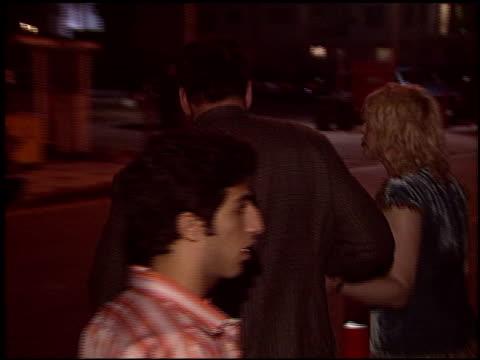 courtney love at the rokbar hollywood opening on june 30, 2005. - コートニー・ラブ点の映像素材/bロール