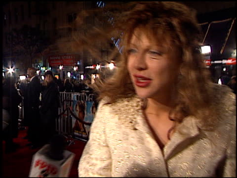 Courtney Love at the 'Vanilla Sky' Premiere at Grauman's Chinese Theatre in Hollywood California on December 10 2001