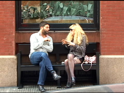 Courtney Love outside her SoHo Hotel at the Celebrity Sightings in New York at New York NY