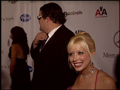 courtney peldon at the carousel of hope gala at the beverly hilton in beverly hills california on october 23 2004 - carousel of hope stock videos and b-roll footage
