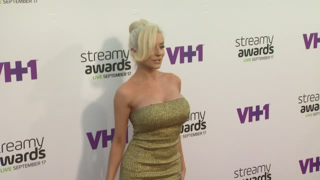 Courtney Stodden at the 5th Annual Streamy Awards at Hollywood Palladium on September 17 2015 in Los Angeles California