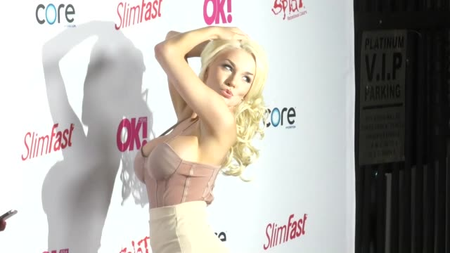 Courtney Stodden at the OK Magazine PreGrammy Party at Avalon Nightclub in Hollywood in Celebrity Sightings in Los Angeles
