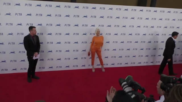 Courtney Stodden at the PETA's 35th Anniversary Party at Hollywood Palladium in Hollywood at Celebrity Sightings in Los Angeles on September 30 2015...
