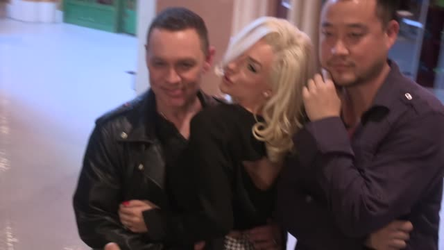 Courtney Stodden Doug Hutchison at Sweet on June 04 2015 in Los Angeles California