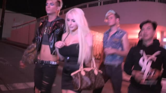Courtney Stodden on being the girl you take home to Mom in West Hollywood Celebrity Sightings in Los Angeles CA on 11/05/13