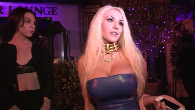 Courtney Stodden on Lauren Harries and her mystery man with designer Kim West at Sur Lounge in West Hollywood Celebrity Sightings in Los Angeles CA on