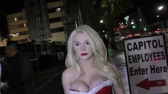 INTERVIEW Courtney Stodden talks about her new music outside Avalon Nightclub in Hollywood in Celebrity Sightings in Los Angeles