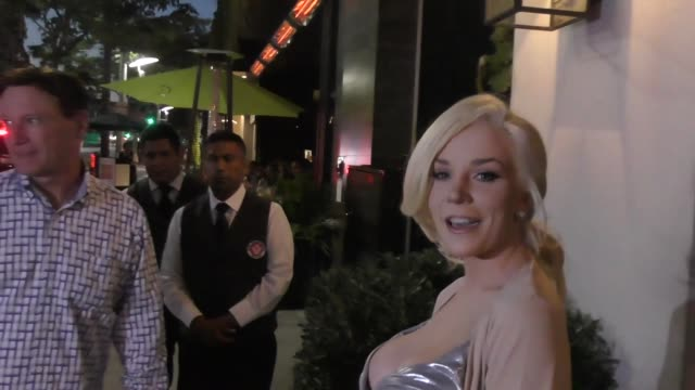 INTERVIEW Courtney Stodden talks how to make a perfect Instagram video outside Spago's Restaurant in Beverly Hills in Celebrity Sightings in Los...