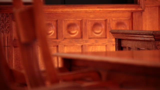 courtroom chairs - court room stock videos & royalty-free footage