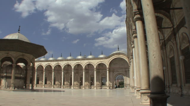 WS PAN Courtyard of Mohamed Ali Mosque, Cairo, Egypt