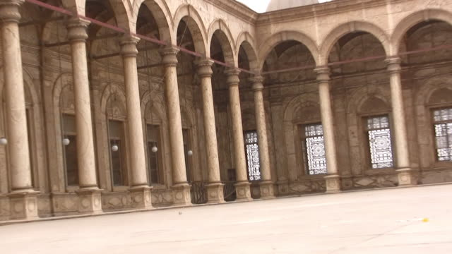 ZO, MS, CANTED, Courtyard of Mosque of Muhammad Ali Pasha, Citadel of Cairo, Cairo, Egypt