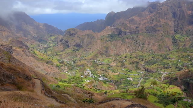 Cova-Paul-Ribeira da Torre Natural Park - Valley of Ribeira do Paul , Santo Antão , Cape Verde - West Africa