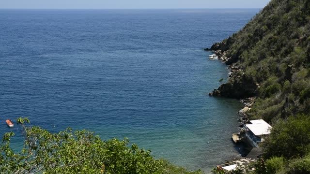 vidéos et rushes de cove of chichiriviche de la costa. - tourisme vert