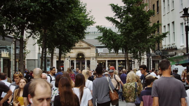 Covent Garden Crowds