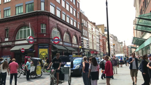 covent garden, london - west end london stock videos and b-roll footage