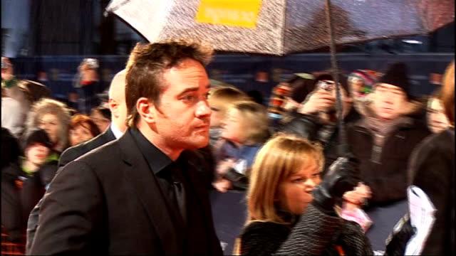Royal Opera House Matthew Macfadyen along on red carpet at BAFTA Awards