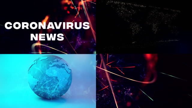vídeos de stock, filmes e b-roll de covid-19, coronavirus última notícia - ocidentalização
